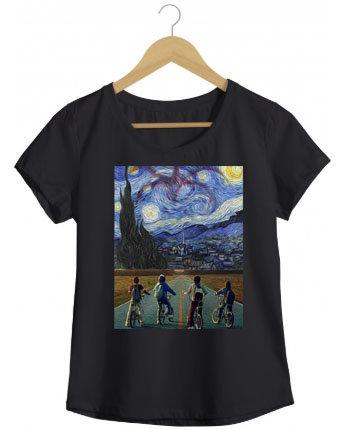 Camiseta Arte Strange