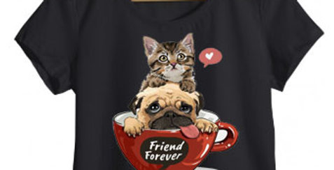 Camiseta PugCat