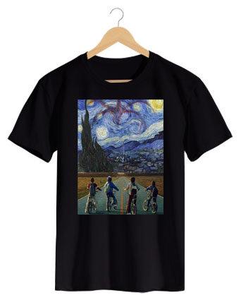 Camiseta Pintura Strange