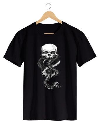 Camiseta Skull Snake