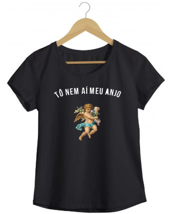 Camiseta Tô nem ai meu anjo