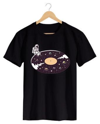 Camiseta Disco Universo