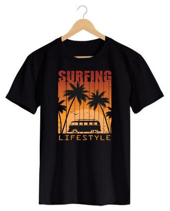 Camiseta Surfing