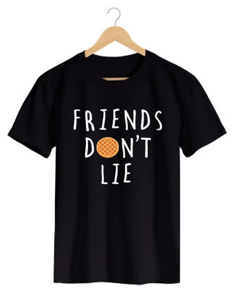 Camiseta Friends Don't Lie