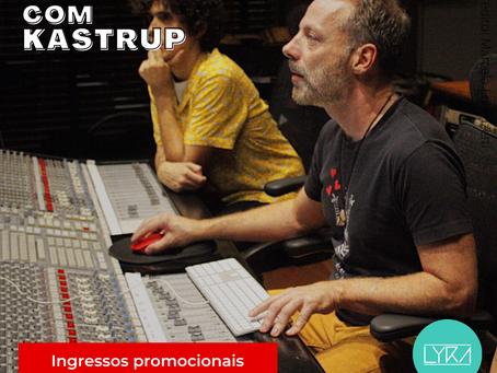 Curso de Produção musical com Kastrup
