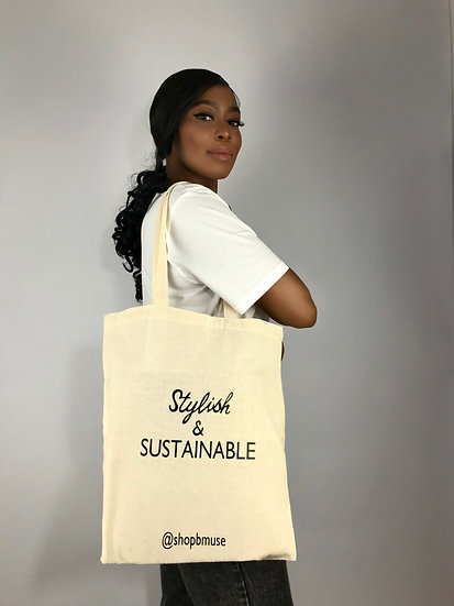 Stylish & Sustainable Tote Bag
