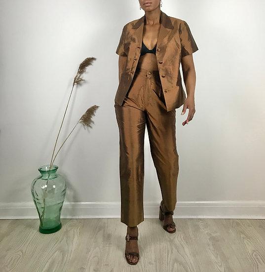 Silk Trouser Set
