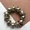 Thumbnail: Vintage Gold Ball Bracelet