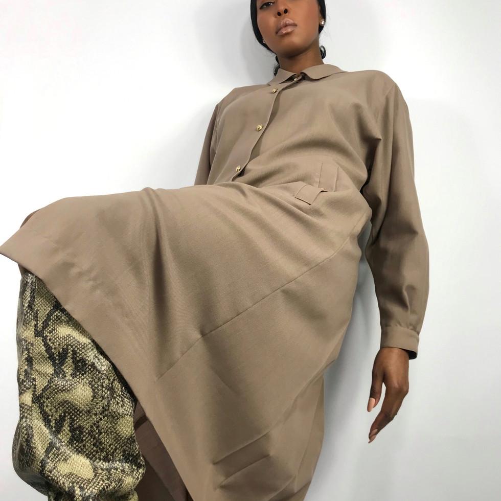VINTAGE JAEGER SHIRT DRESS
