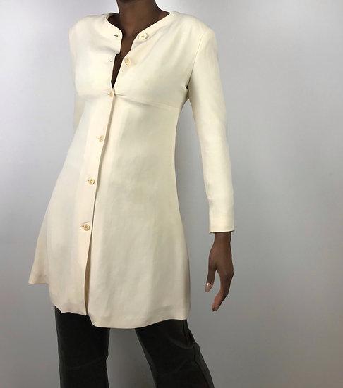 Vintage Silk Longline Jacket
