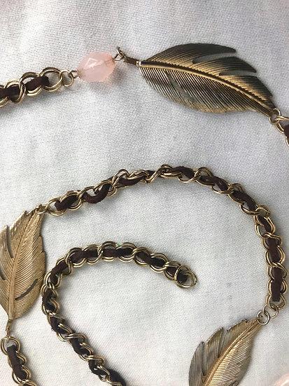 Vintage Leaf Belt