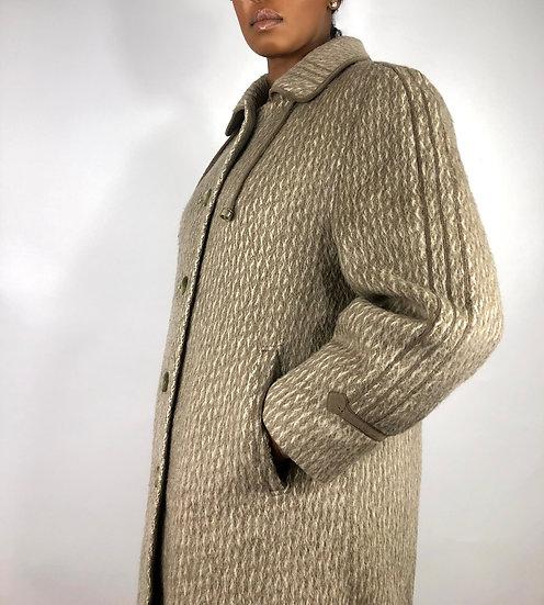 Vintage Llama Coat