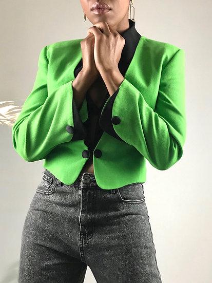 Benny Ong Cropped Blazer
