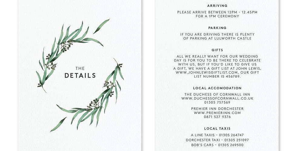 Eucalyptus Hoop - Information