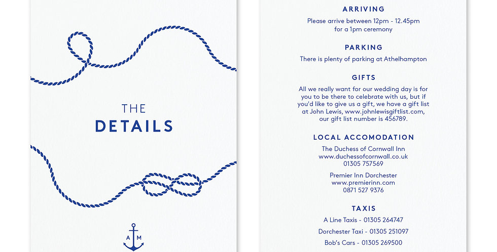 Tie The Knot - Information