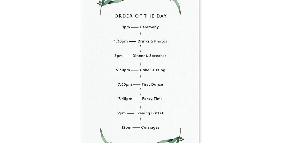 Eucalyptus Hoop - Order Of The Day