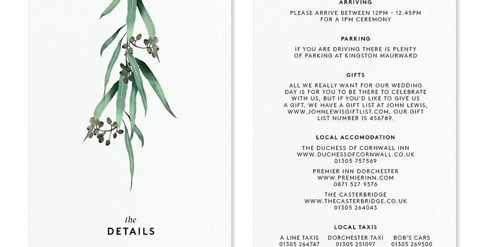 Eucalyptus - Information