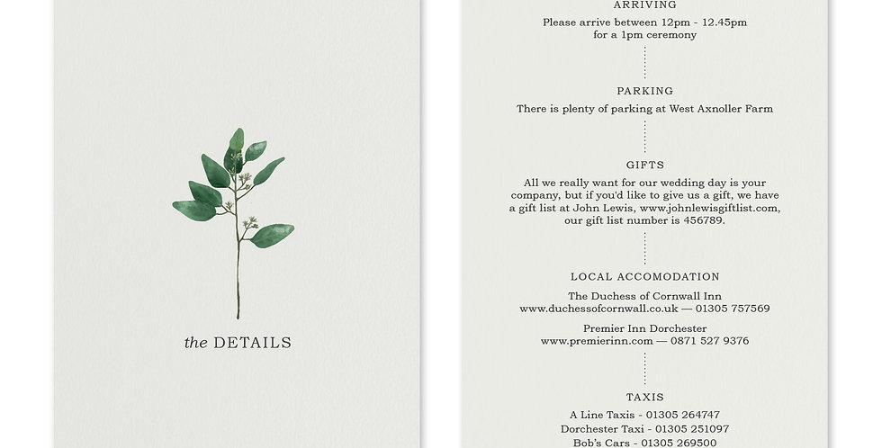 Oval Greenery - Information