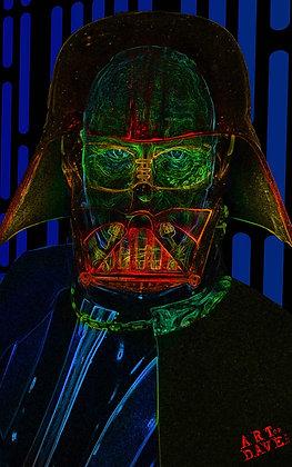 Vader - Chromadepth 3D Print.