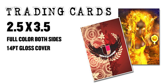 TRADING CARDS  Starting $20