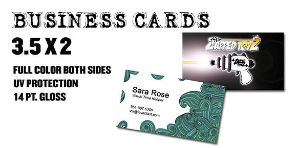 BUSINESS CARDS Starting at $35