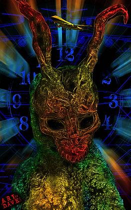 Donnie Darko - Chromadepth 3D Print.