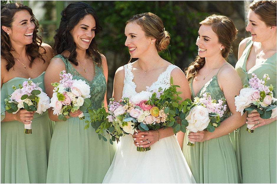 bridal updo, bridal makeup, bridesmaids hair ideas