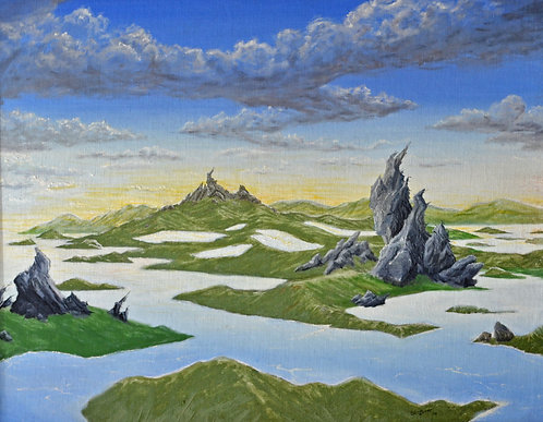 Frozen Rocky Landscape (1981)