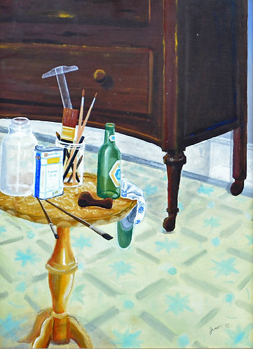 Still Life With Molson Golden (1982)