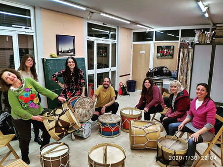 Ashabá | Percusión Feminista