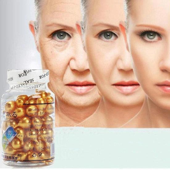 Vitamin E Extract Capsules Anti-wrinkle Whitening Cream