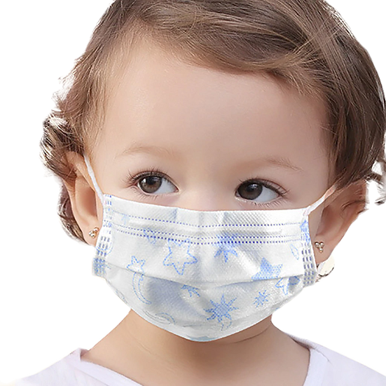 Kids 3ply Disposable Face Mask