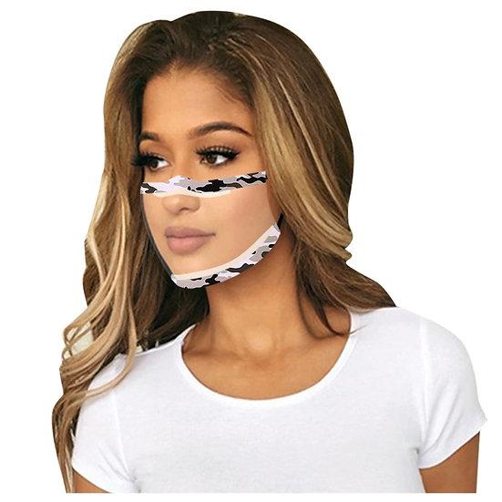 Fashion Transparent Face Mask