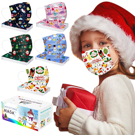 Masks for Kids Christmas Gift
