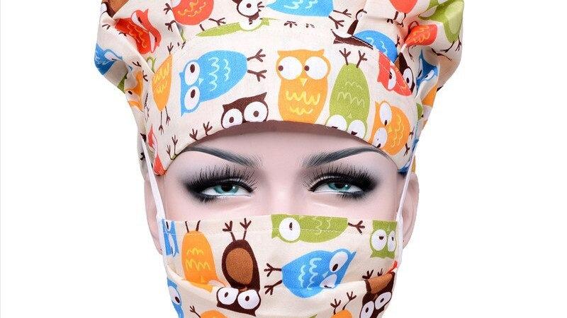 Bouffant Hat With Mask - Medical-Ltd