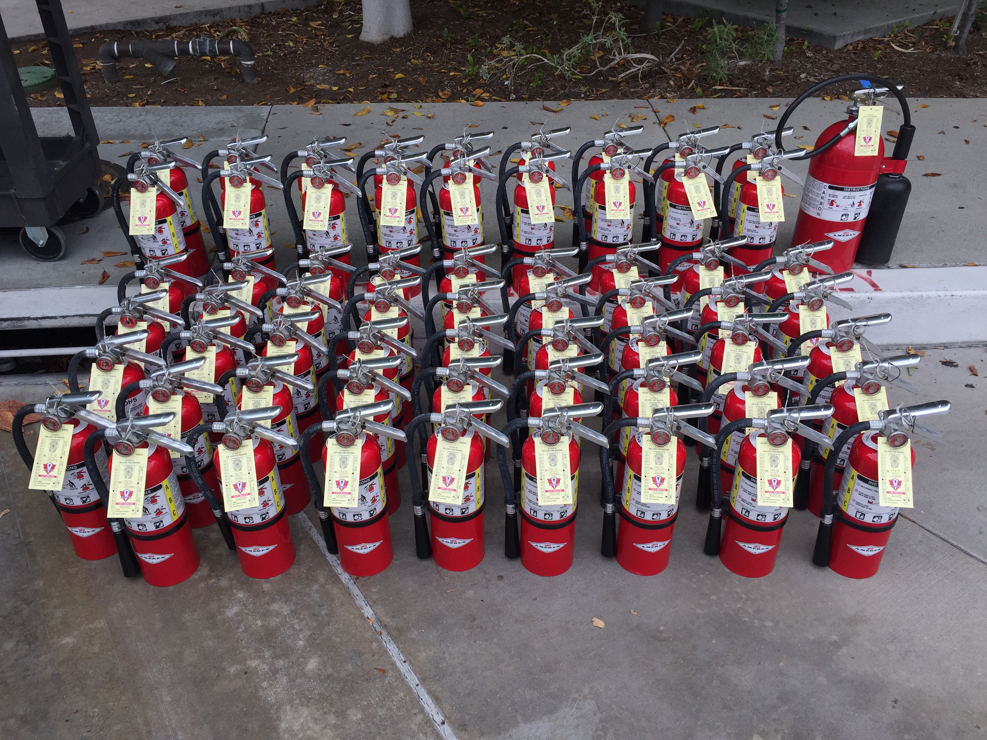 FIRE EXTINGUISHERS INSPECTION