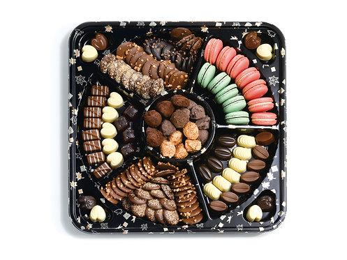 מגש סושי מלא בשוקולד מפנק