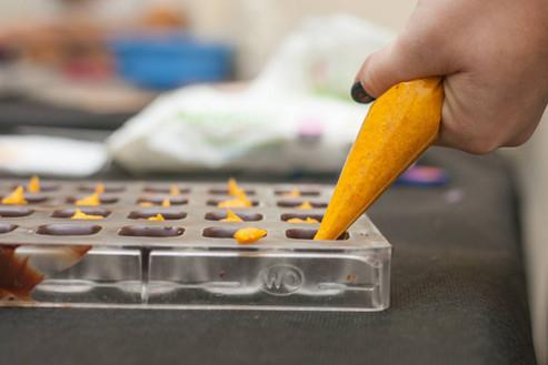 הכנת פרלין תפוז