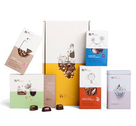 מארז שוקולד קלאסי לטבעוניים