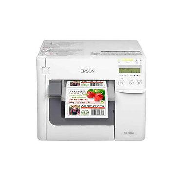 מדפסת מדבקות אפסון Epson ColorWorks TM-C3500