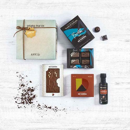 משלוח מארז שוקולד דה קרינה