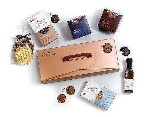 מארז שוקולד במזוודה לשנה החדשה