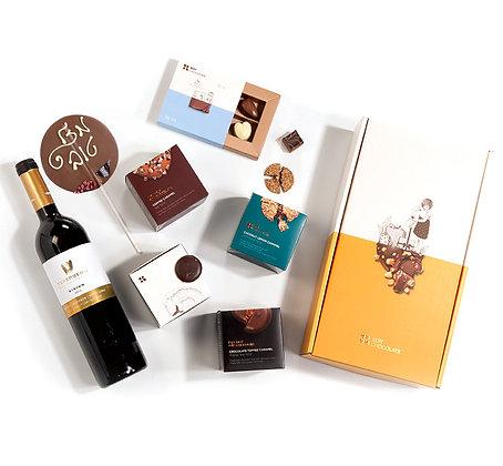 מארז שוקולד קלאסי לחגיגה
