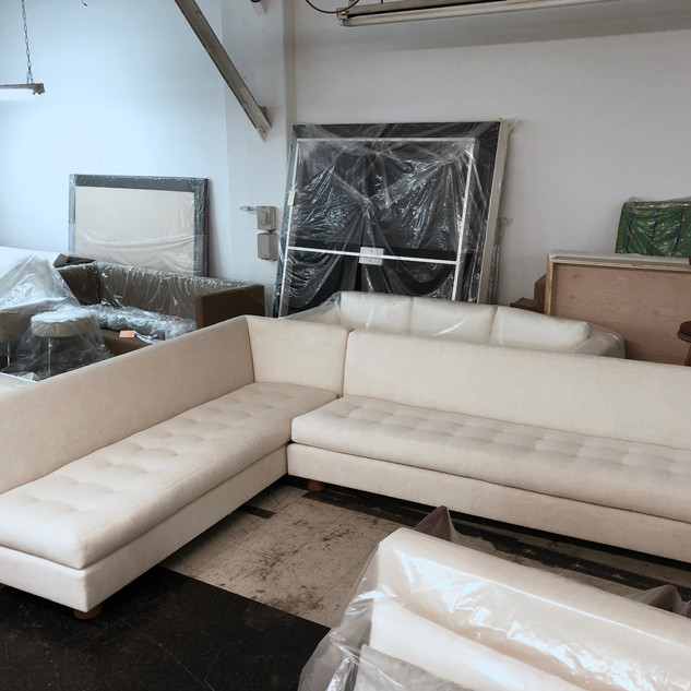 Custom L shaped Sectional
