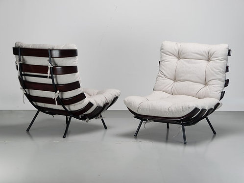 "Martin Eisler and Carlo Hauner ""Costela"" Lounge Chair"