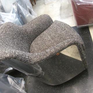 Reupholstered Kagan chair