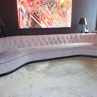 Custom sofa to fit in a room