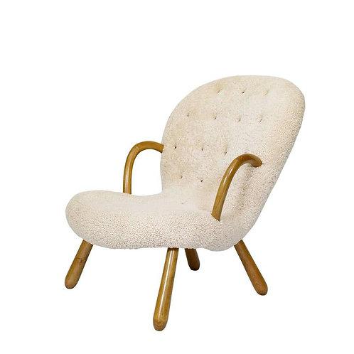 """Philip Arctander """"Clam"""" Chairs"""