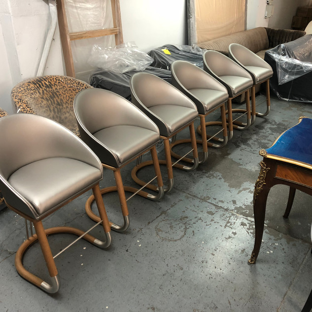 Custom set of dining room chairs