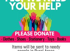 Diwali Donation Drive & Project Light of Goodness